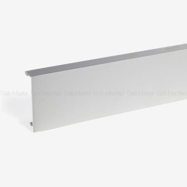 крышка для зажимного профиля алюминий