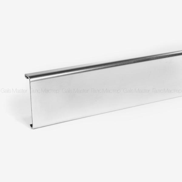 крышка для зажимного профиля полированная сталь