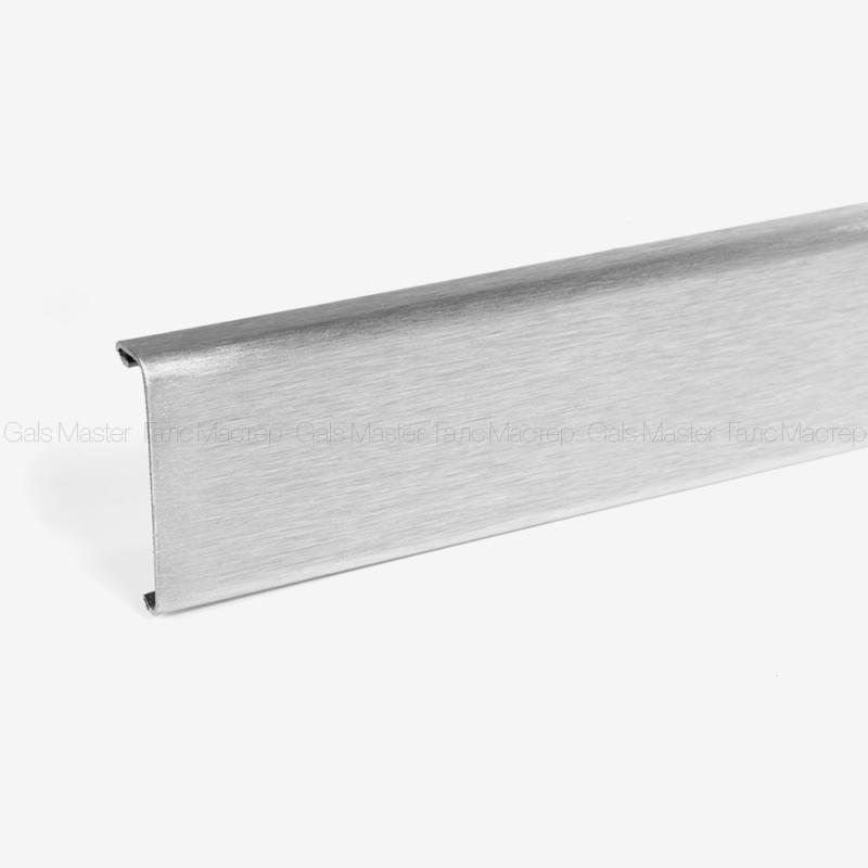 крыка для зажимного профиля шлифованная сталь