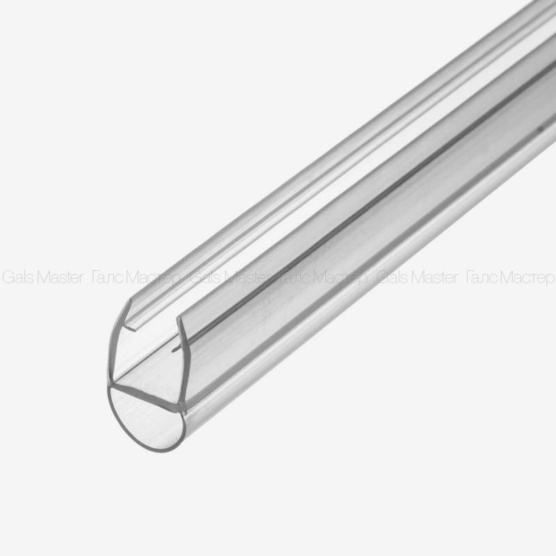 ПВХ профиль, уплотнительный, для стекла 10 мм