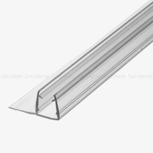 ПВХ уплотнитель для стеклянной двери