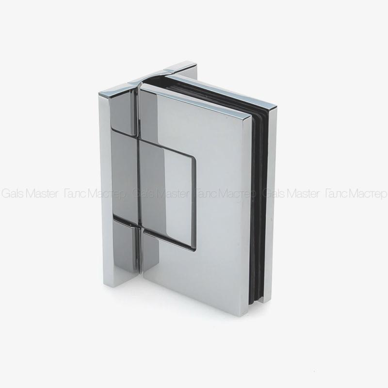 GM-701-CP NAOMI Петля стена-стекло 90˚ с регулировкой 0-положения