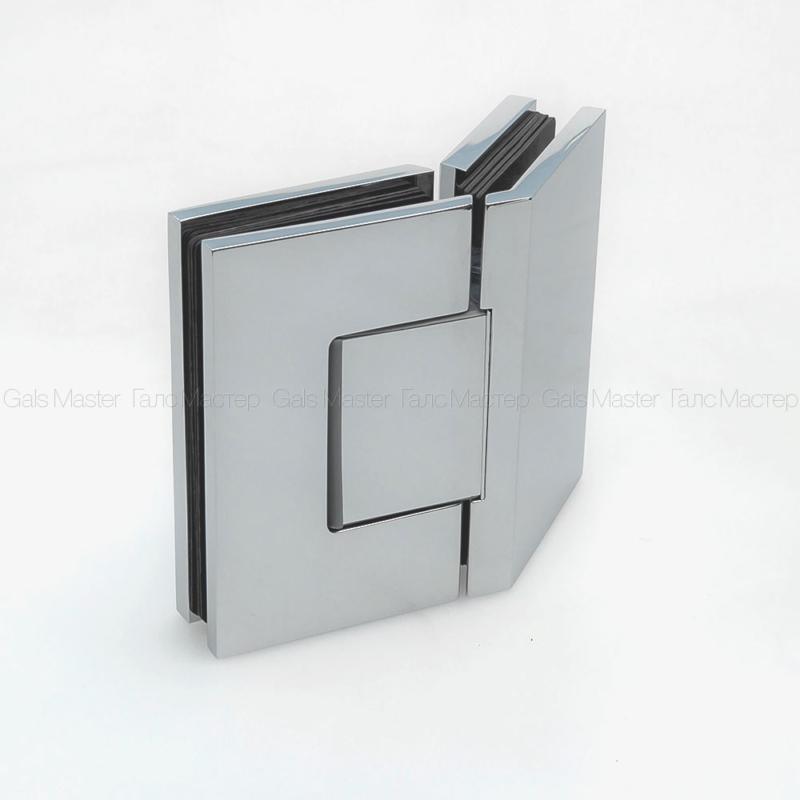 GM-702-CP NAOMI Петля стекло-стекло 135˚ с регулировкой 0-положения