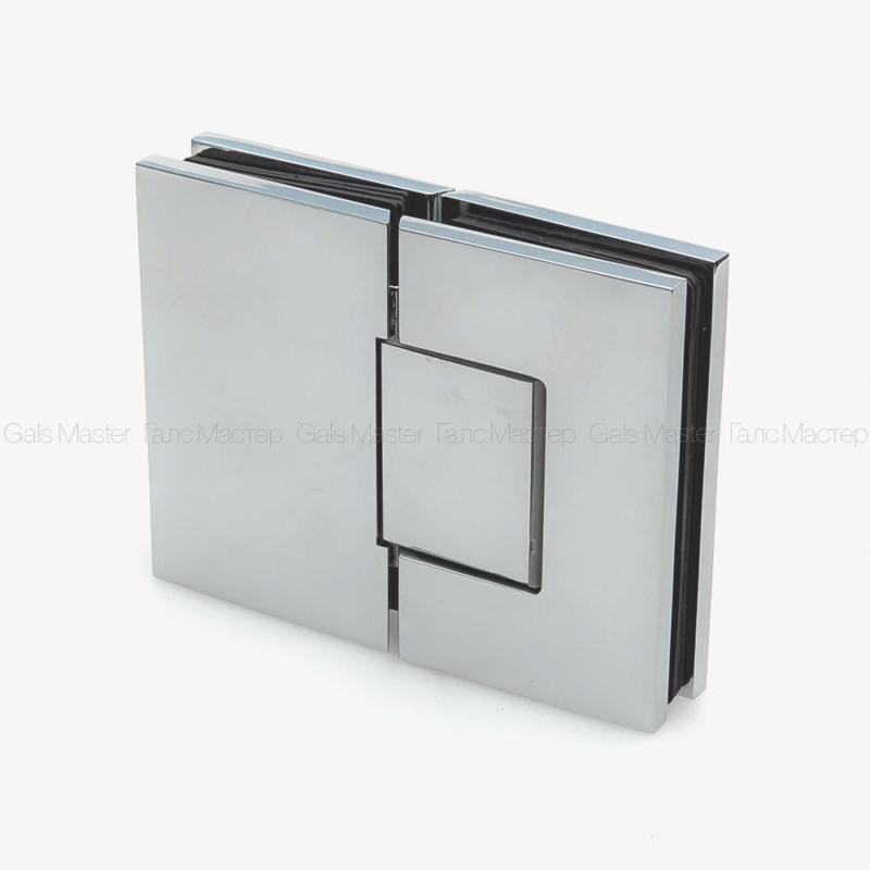 GM-703-CP NAOMI Петля стекло-стекло 180˚ с регулировкой 0-положения
