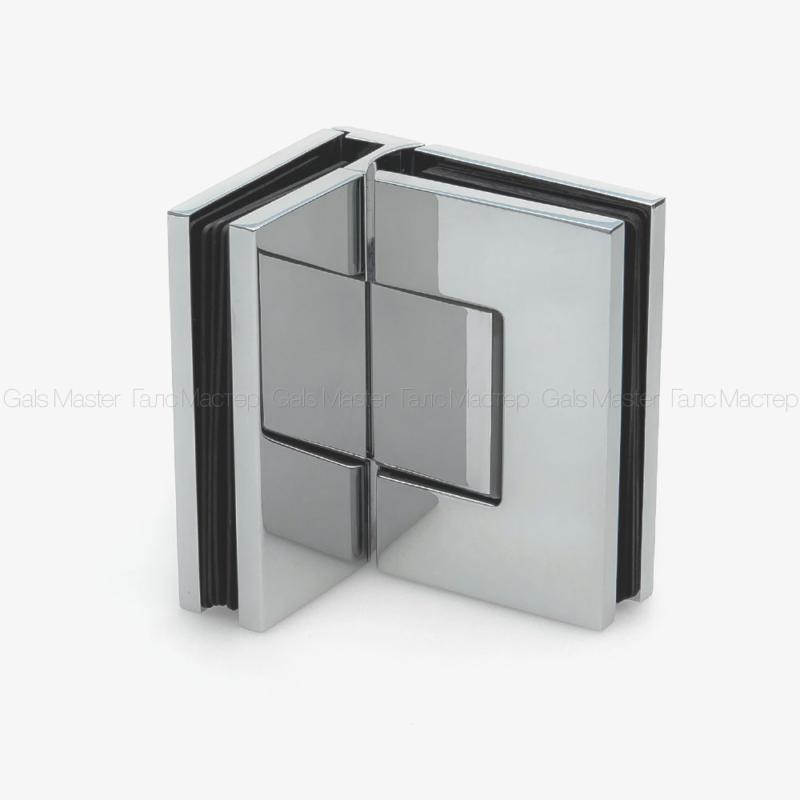 GM-704-CP Петля стекло-стекло 90˚ с регулировкой 0-положения