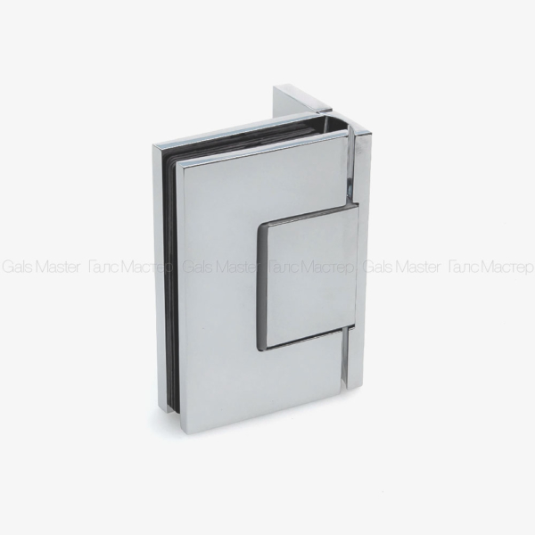 GM-711-CP NAOMI Петля стена-стекло 90˚ с регулировкой 0-положения
