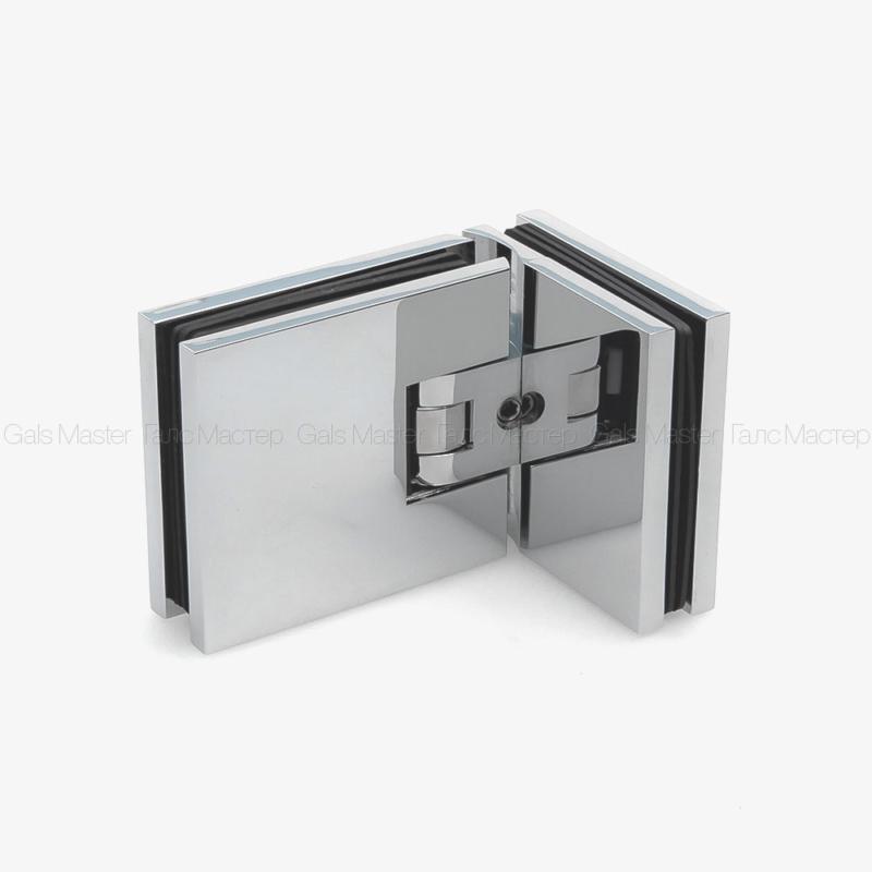 GM-804-CP NIKA Петля стекло-стекло 90˚ с регулировкой 0-положения