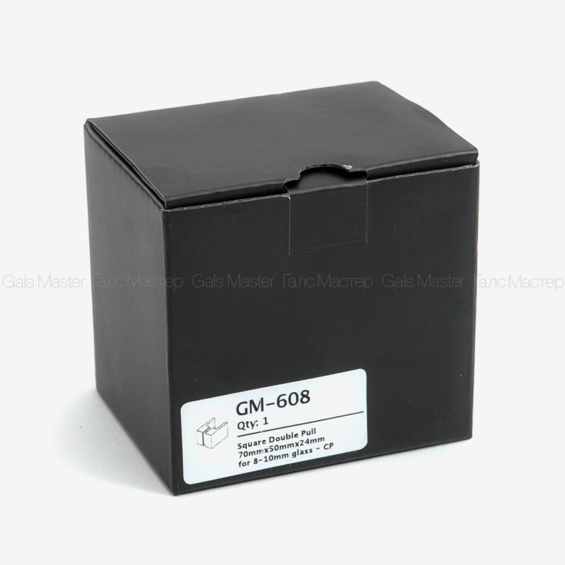 черная коробка с душевой фурнитурой