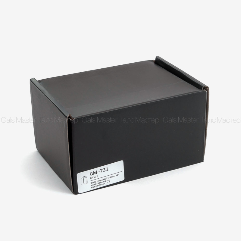 черная упаковка душевой фурнитуры