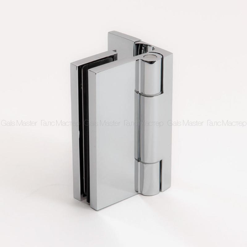 GM-733-CP GLORIA Петля стена-стекло 90˚ без реза уплотнителя