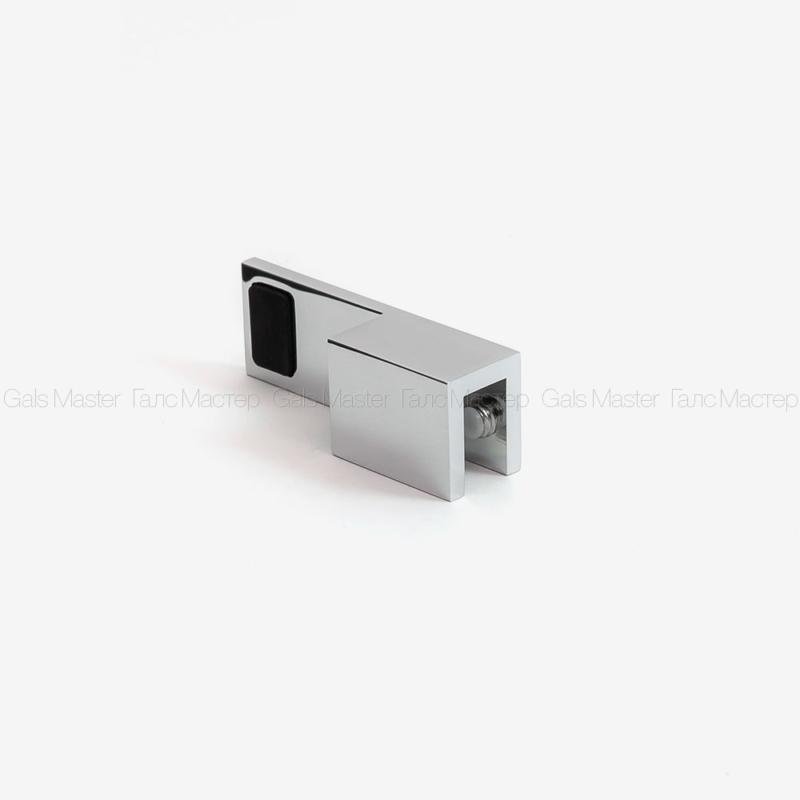GM-647-R-CP Дверной стопор фиксатор стеклянной двери в душ