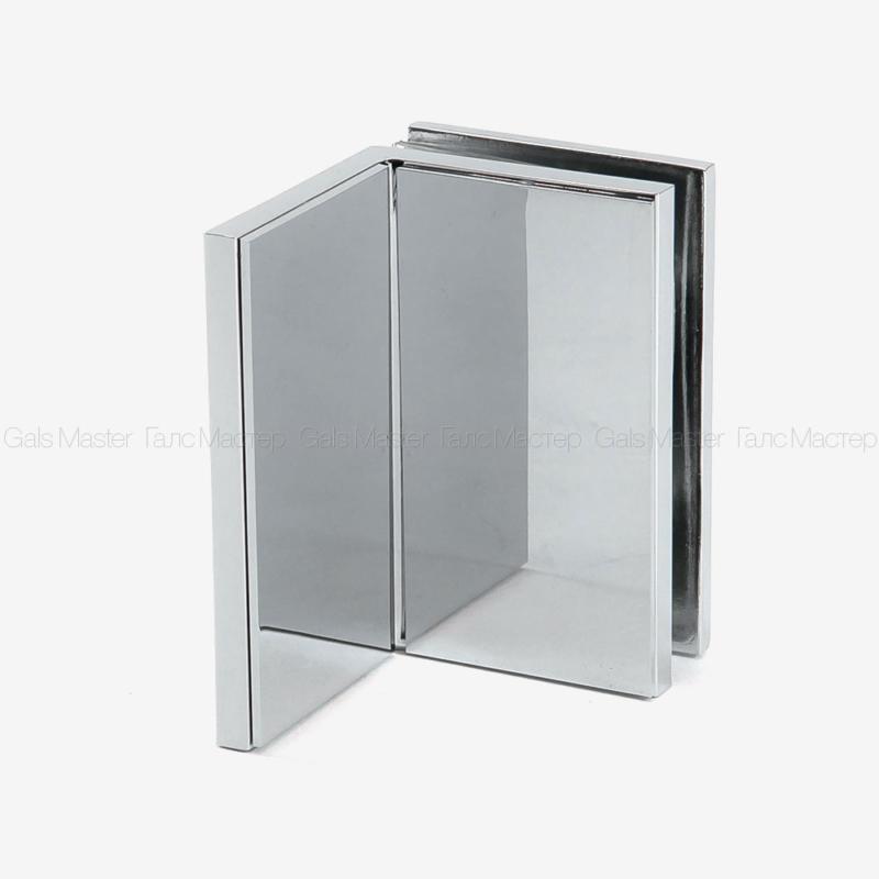 GM-755-CP Коннектор стена-стекло 90˚