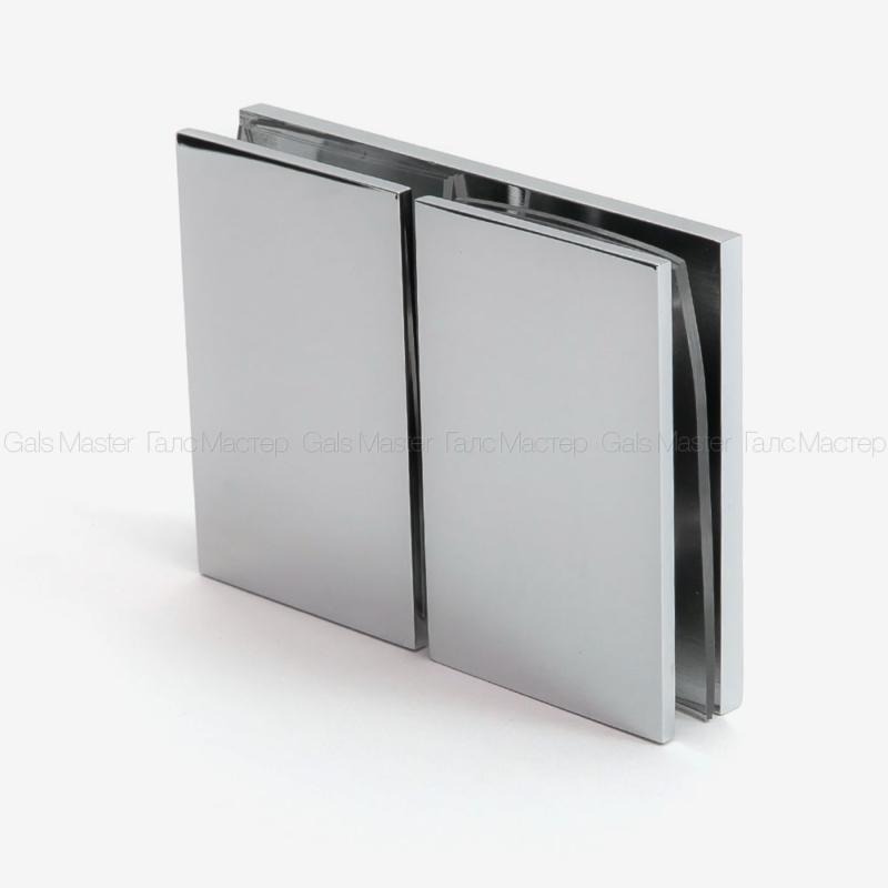 душевой коннектор для стекла 180 градусов
