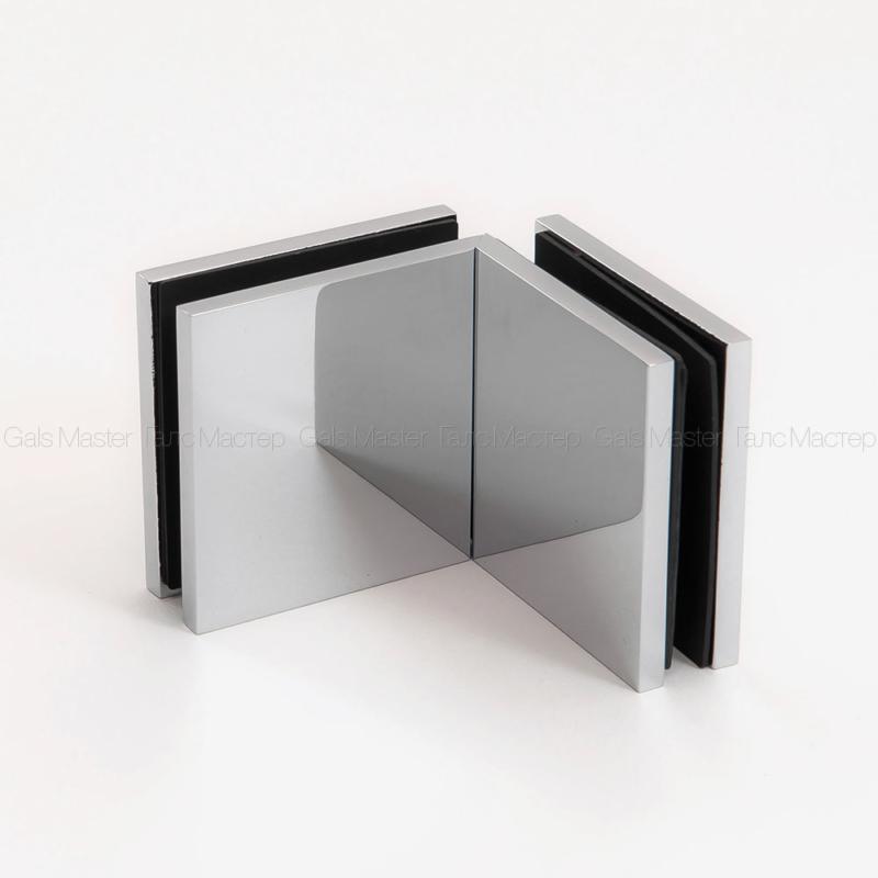 GM-815-CP NIKA Коннектор стекло-стекло 90˚