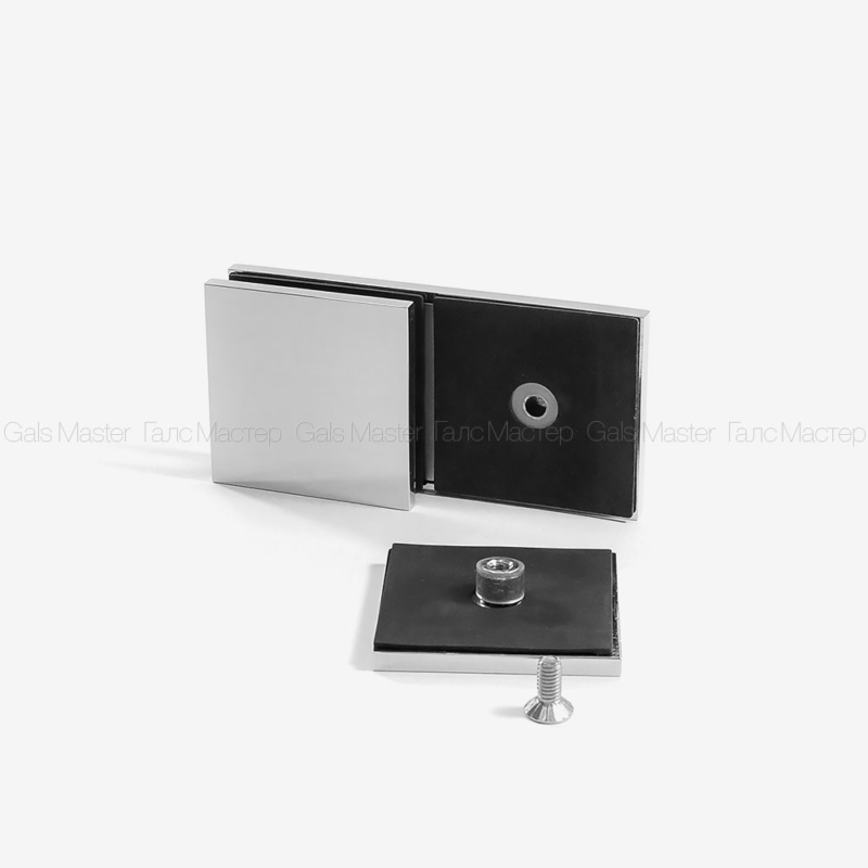 Можно использовать как коннектор стена-стекло 180 градусов