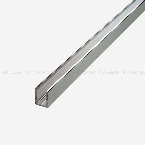 GM-974-H10-3000-C П-образный профиль для стекла 10 мм