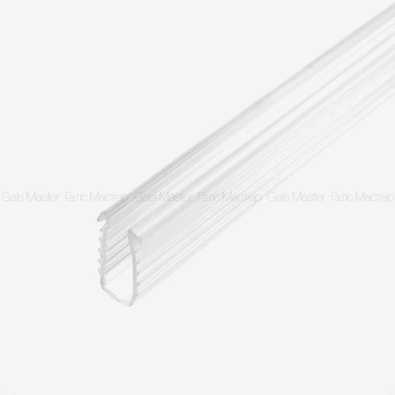 GM-637-8-3000 Уплотнительный профиль ПВХ для стекла 8 мм в П-профиль 10мм