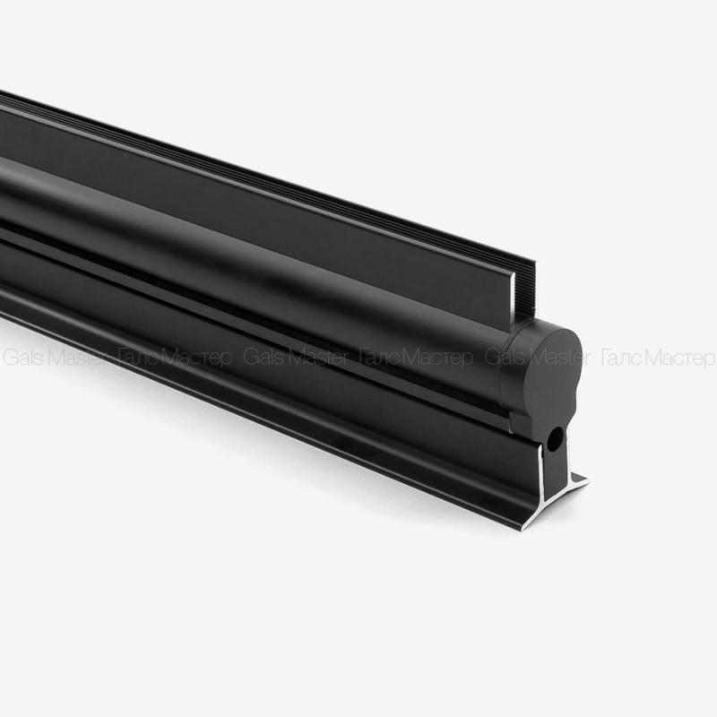 GM-791-MB Комплект для душевой шторки с подъемным механизмом, в черном матовом цвете