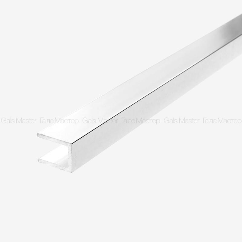 GM-976-10-3000 П-образный профиль для стекла 10 мм