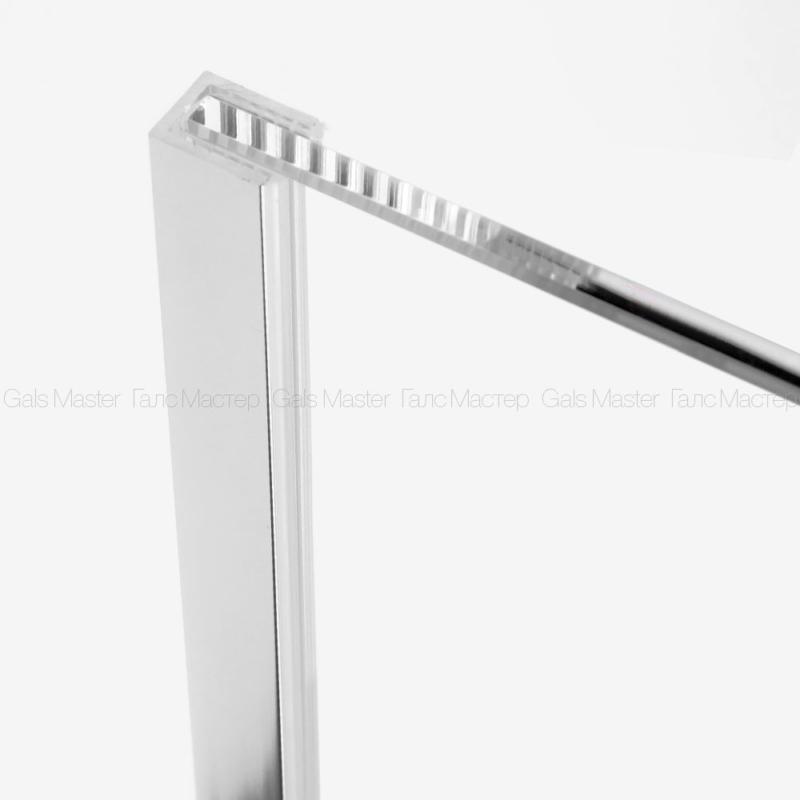 Уплотнительный профиль ПВХ для стекла 8 мм в П-профиль 10мм
