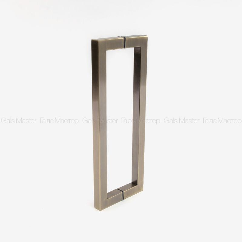 ручка для стеклянных дверей бронза