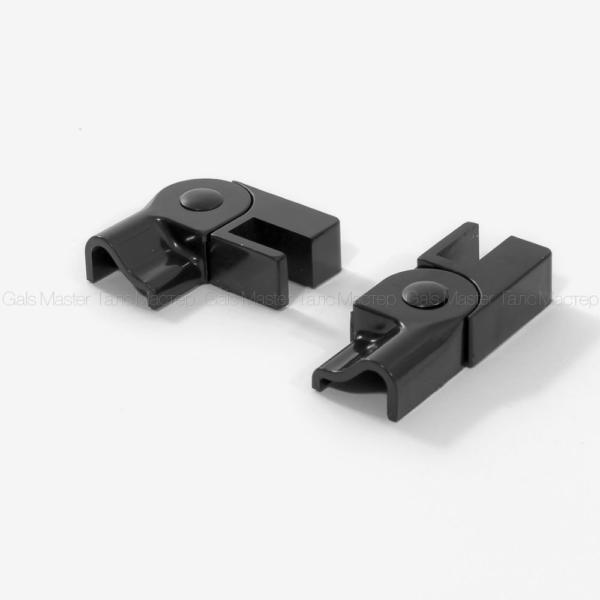 наконечники с регулируемым углом 90 -180 градусов, черные
