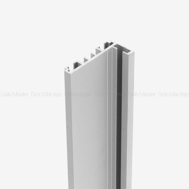 Комплект дверной коробки для стеклянной двери, L-образный